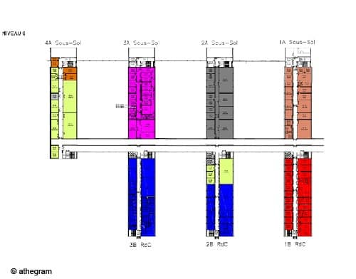 schéma directeur athegram pour le campus de bordeaux