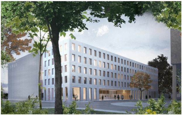 perspective de l'institut photovoltaique d'Ile de France
