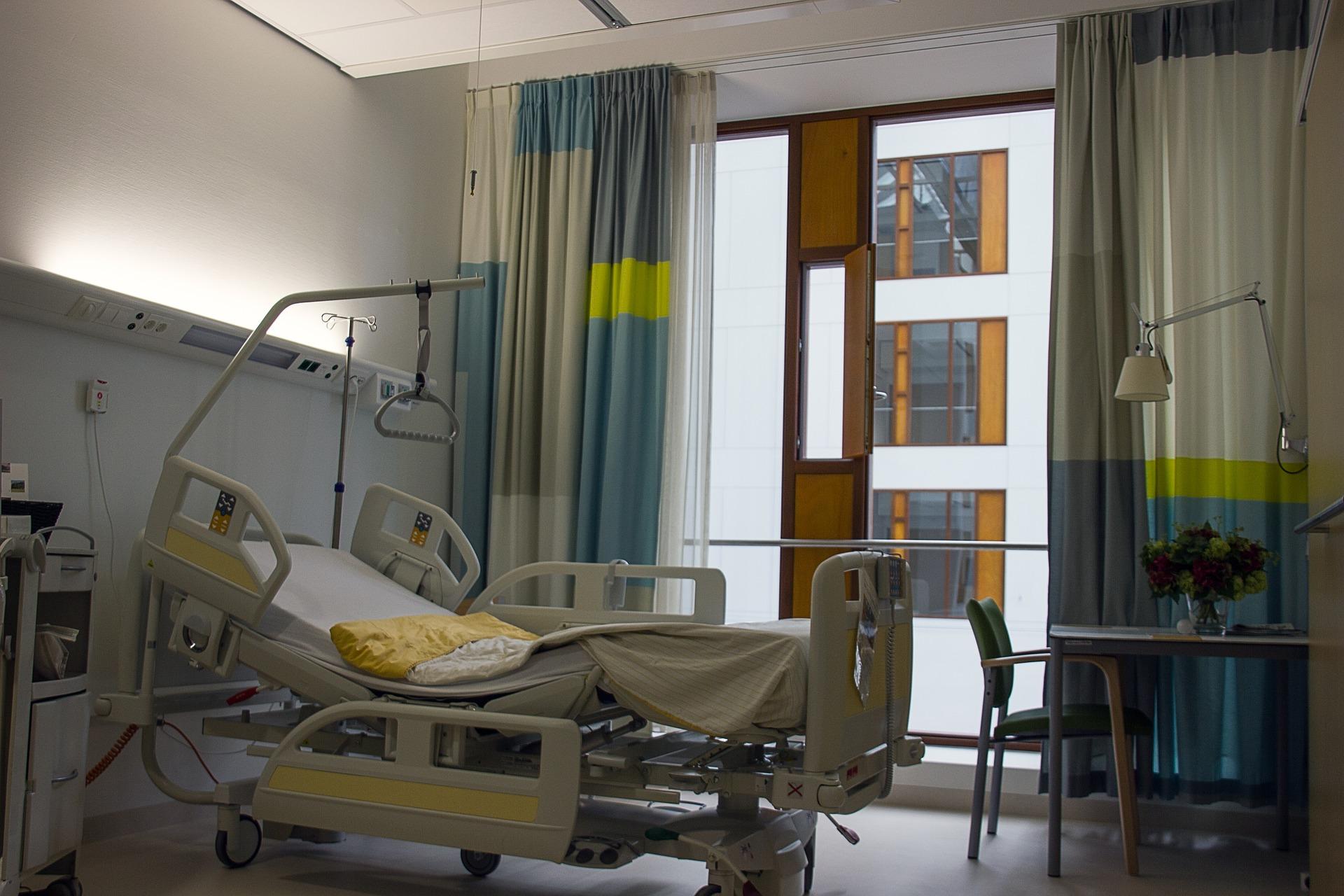photo d'un chambre hospitalière