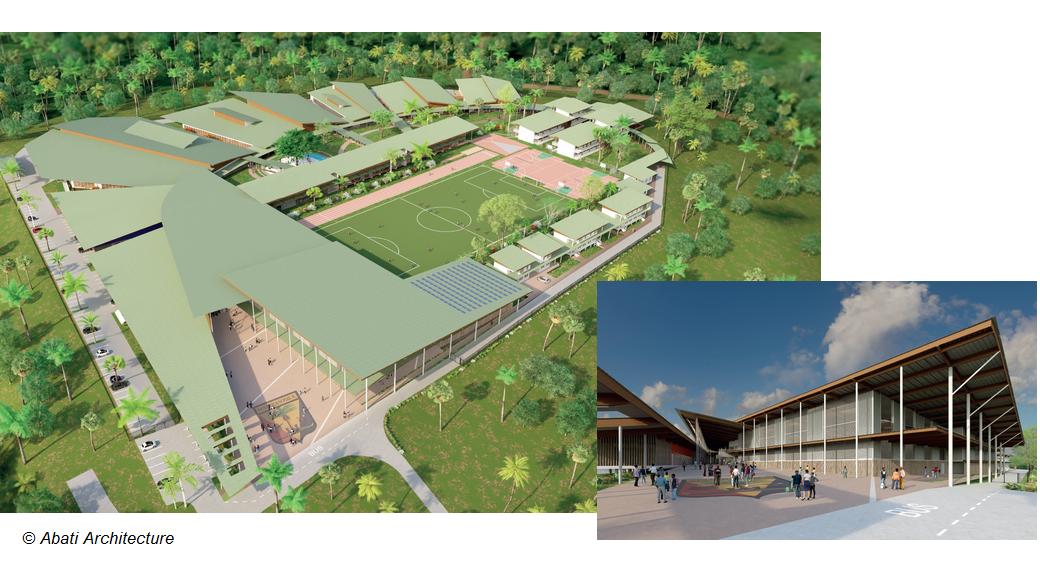 Concours construction Lycée Maripasoula