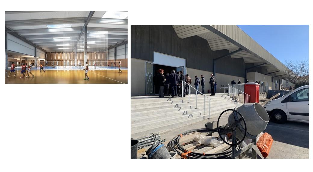 Démarrage chantier gymnase ESID Bordeaux